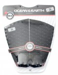 Ocean & Earth Black Out 2 Piece Tail pad - Black