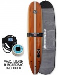 California Board Company Classic 108 Package Surfboard 9ft - Brown Grain