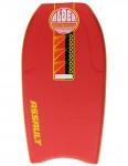 Alder Assault Bodyboard 44 inch - Red