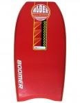Alder Boomer bodyboard 40 inch - Red