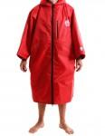 Alder Polar Coat Adult outdoor change robe - Red