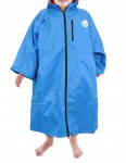 Alder Polar Coat Small (small adult/kid) outdoor change robe - Blue