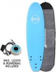 Alder Rio Soft Surfboard package 7ft 6 - Blue