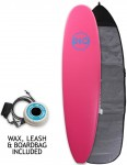 Alder Rio Soft Surfboard Package 7ft 0 - Pink