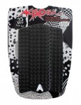 Astrodeck Front Foot surfboard traction pad - Black