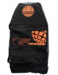 Alder System X3 44 inch Three Board Bodyboard bag - Black/Orange