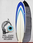 Blue Dot Fish Surfboard Package 6ft 3 - Blue Nose