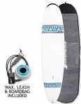 Bic Magnum surfboard 8ft 4 package - Blue