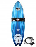 California Board Company Sushi Fish foam surfboard 6ft 2 - Blue