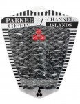 Channel Islands Parker Coffin surfboard tail pad - Grey Camo