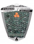 Channel Islands Parker Coffin surfboard tail pad - Camo