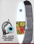 Cortez Grom Surfboard Package 6ft 10 - Series 10 Yellow