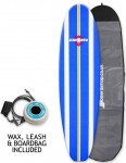 Alder Delta Stringers Package Soft beginners surfboard 7ft - Blue Stripe