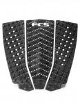 FCS T-3W Wide Performance surfboard tail pad - Black/Charcoal
