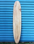 Firewire Timbertek Gem surfboard 8ft 8 Futures - Natural Wood