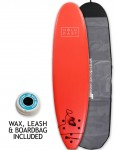 Hold Fast Mini Mal Foam Surfboard Package 7ft 0 - Red