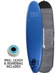 Hold Fast Mini Mal Foam Surfboard Package 8ft 0 - Royal Blue