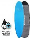 Hold Fast Mini Mal Foam Surfboard Package 7ft 0 - Blue
