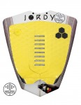 Channel Islands Jordy Smith Arch surfboard tail pad - Flouro Yellow