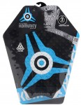 Komunity Project Icon 3 Piece Surfboard Tail pad - Blue