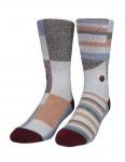 Stance Jordans socks - Burgundy