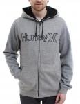 Hurley Getaway Sherpa lined zip hoody - Grey
