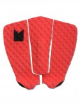 MODOM Colour Series surfboard tail pad - Red