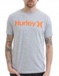 Hurley One and Only Seasonal T Shirt - Heather Grey