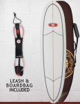 Nineplus Magic Carpet (Volan Wrapper) Package Surfboard 7ft 6 - Clear