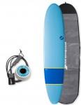 NSP Elements Longboard surfboard package 8ft 0 - Navy