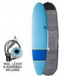 NSP Elements Longboard surfboard package 9ft 0 - Navy