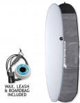 NSP Elements Longboard surfboard package 9ft 0 - White