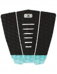 Ocean & Earth Simple Jack Surfboard Tail Pad - Black/Mint