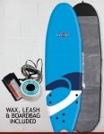 Osprey Fish Foam surfboard package 6ft 0 - Logo Blue