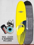 Osprey Mini Mal Foam surfboard package 7ft 0 - Shard Yellow