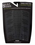 Slater Designs 3-Piece Front Foot Surfboard Traction Pad - Black