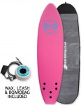 Alder Rio Soft Surfboard 6ft Package - Pink