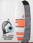 Torq Mod Fun Surfboard Package 7ft 6 - Red Bands
