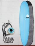Torq Fun Surfboard Package 7ft 6 - Blue