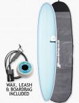 Torq Surfboards Mal Package Surfboard 9ft - Light Blue