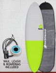Torq Mod Fun Surfboard package 6ft 8 - Fifty Fifty