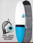 Torq Mod Fun surfboard package 7ft 2 - Blue Tail Dip
