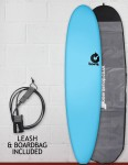 Torq Long Soft & Hard surfboard package 8ft - Blue