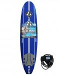 California Board Company Scott Burke Ninety Six Soft Surfboard 8ft 0 - Navy