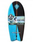 California Board Company Scott Burke Black Ball Foam Surfboard 4ft 6 - Blue/Black