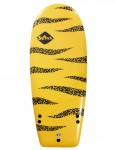 Softech Rocket Launch soft surfboard 4ft 6 - Yellow/Black
