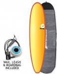 Torq Mini Long Surfboard package 8ft 0 - Colour Fade