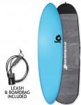 Torq Fun Soft & Hard surfboard package 7ft 2 - Blue
