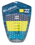 Billabong Tri Bong surfboard tail pad - Lime
