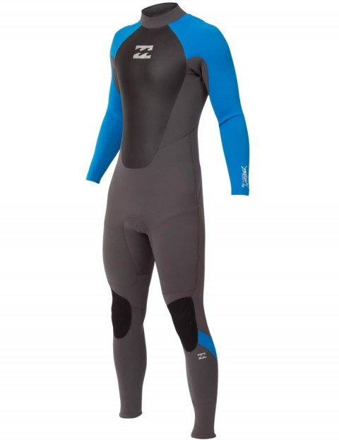 Billabong Boys Intruder 5/4/3mm Wetsuit 2017 - Graphite